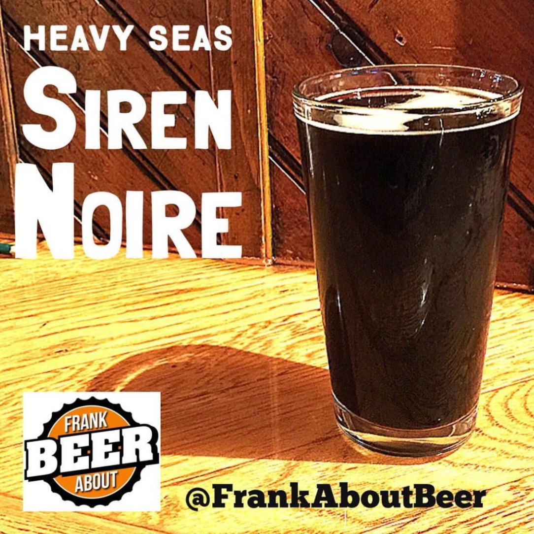 Bourbon barrel aged chocolate stout from Heavy Seas Brewing Baltimore Maryland