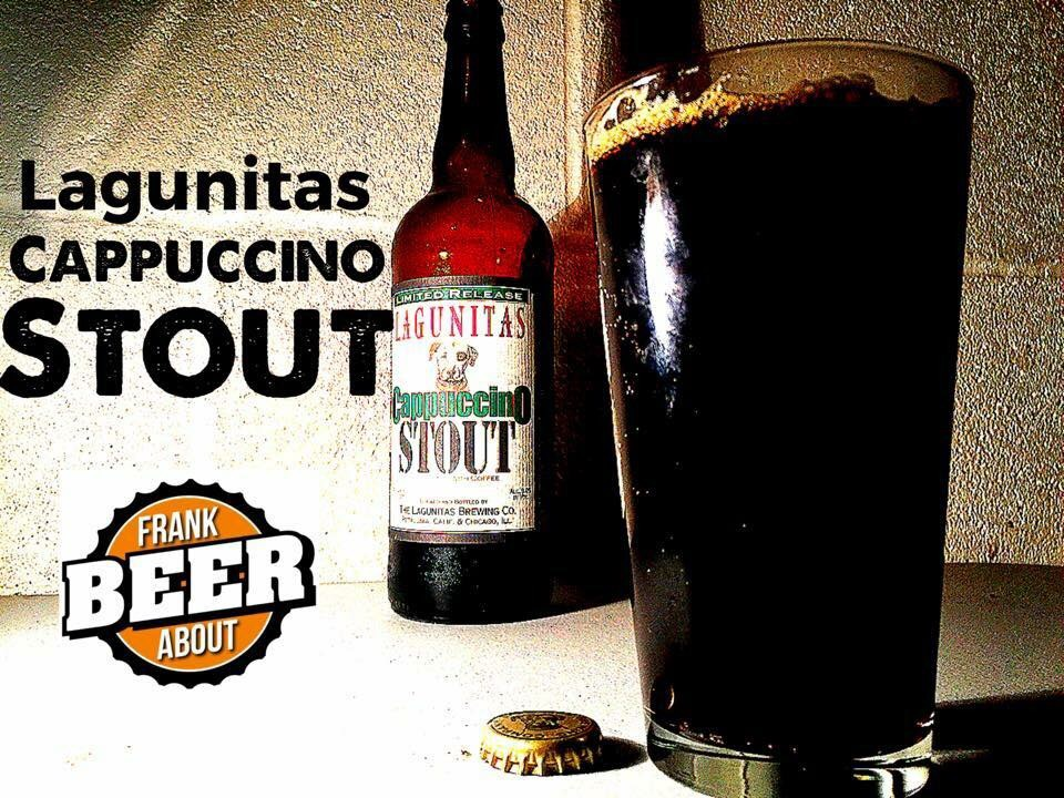 Lagunitas Cappuccino coffee Stout beer