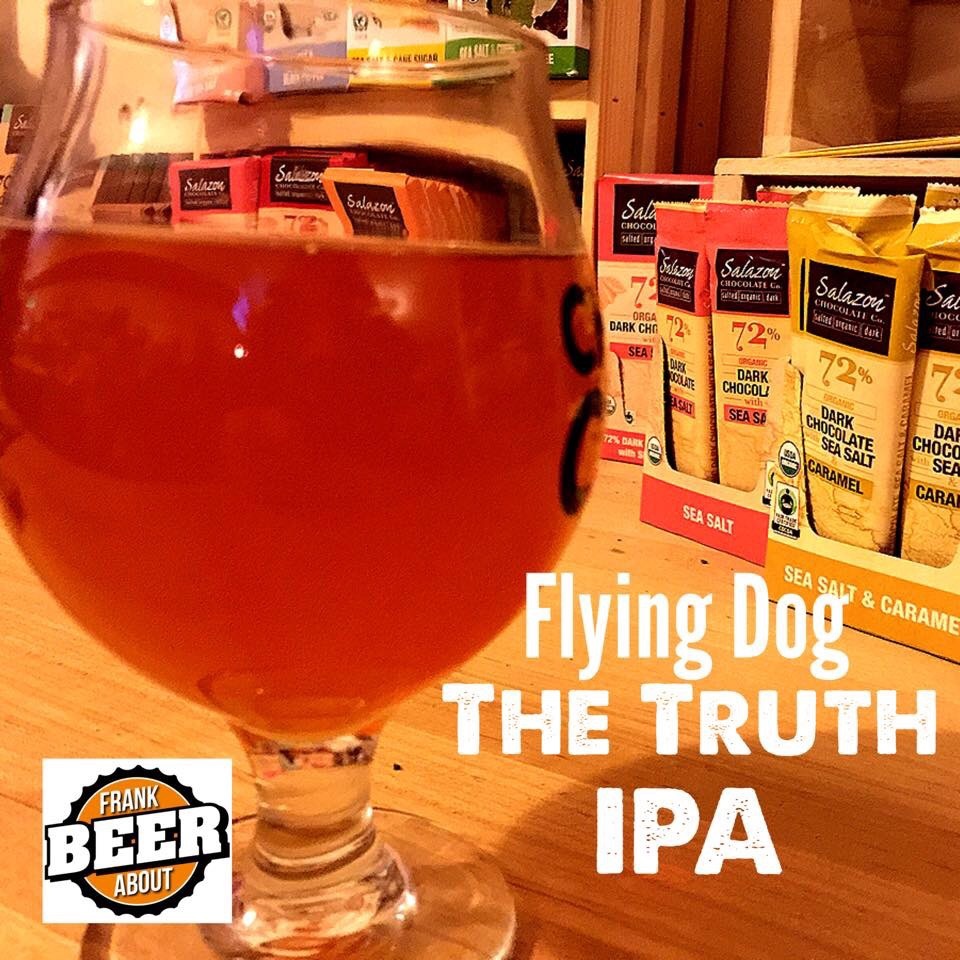 Flying Dog Truth IPA craft beer