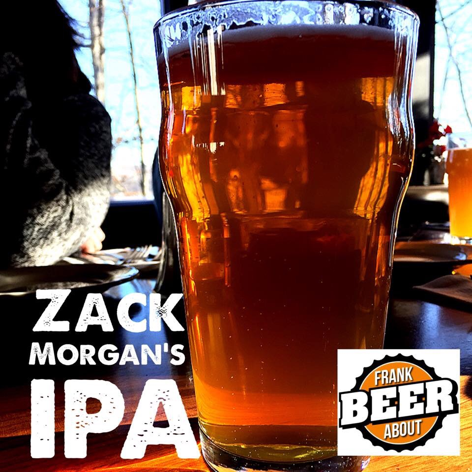 Morgantown West Virginia Brewing Zack Morgan IPA