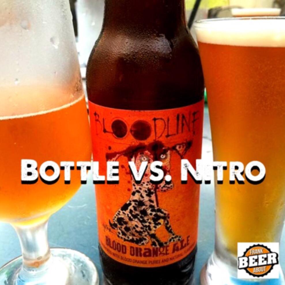 Bottled beer verses nitro craft beer