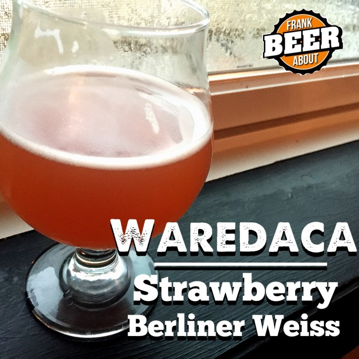 Craft beer strawberry wheat berliner weiss