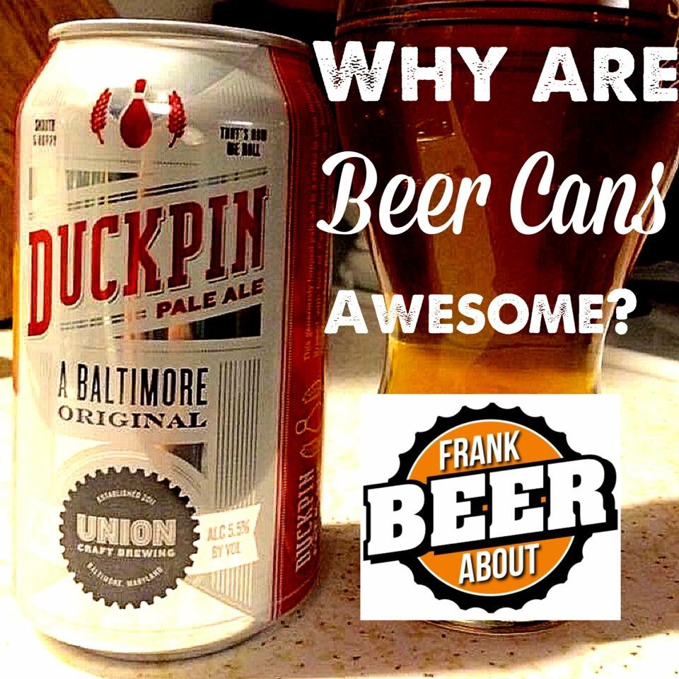 Craft beer can of Union Duckpin pale ale