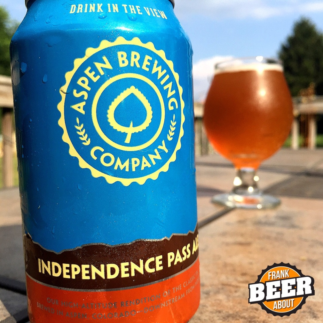 Aspen Brewing Independence Pass Ale IPA craft beer