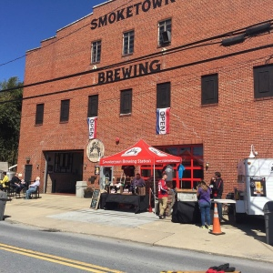 Smoketown Brewing Station historic firehouse in Brunswick, Maryland