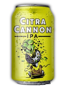 Heavy Seas craft beer can of Citra Cannon IPA